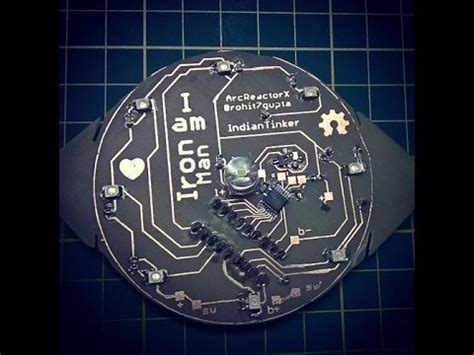 Arc Reactor Schematics Arcreactorx The Intuitive Ironman