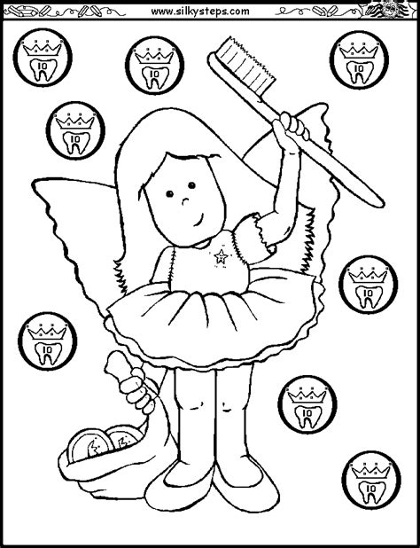 preschool dental coloring pages az coloring pages