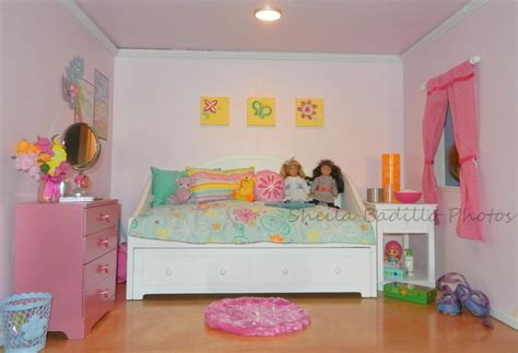 how to make a doll bedroom american girl room decorating ideas iron blog