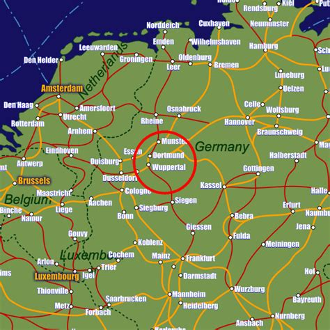 rail map germany wuppertal rail maps and stations from european rail guide
