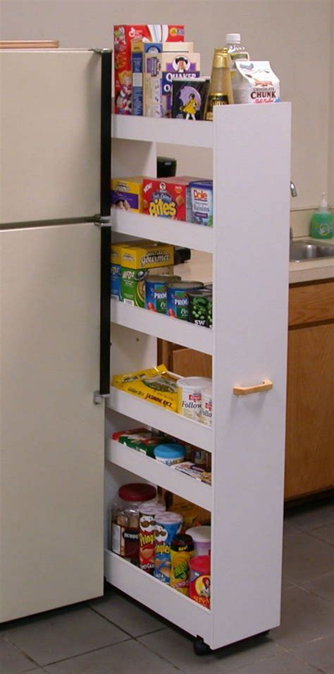 Slide Out Kitchen Pantry by Slide Out Pantry For The Home