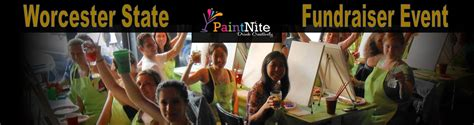 paint nite worcester worcester state paint nite fundraiser