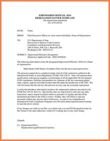 Appointment Letter Format Designation Change 8 Department Of Defense Letterhead Template Company Letterhead