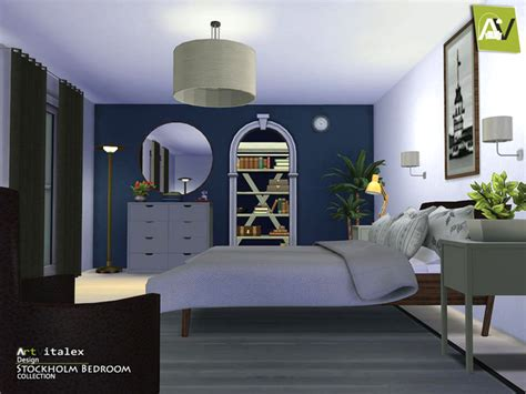 Build A Bear Bedroom Set stockholm bedroom by artvitalex at tsr 187 sims 4 updates