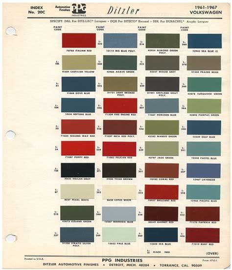 new year color coding original vw beetle paint schemes paint schemes vw