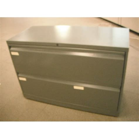 Knoll File Cabinets 2 Drawer Lateral File Cabinet Knoll Grey 42x18x28 Locking Allsold Ca Buy Sell Used Office