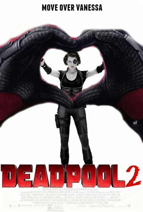 deadpool 2 poster deadpool 2 fan made poster by thedarkrinnegan on