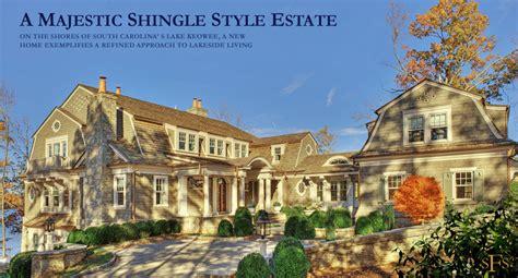 Large Estate House Plans stephen fuller designs shingle style