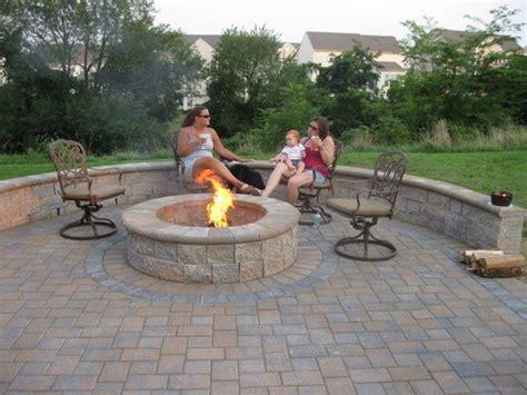 17 best ideas about paver pit on backyard