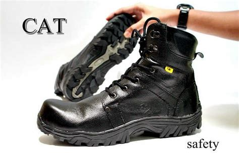 Sepatu Boots Pria Caterpillar Boots Cumbria Safety jual beli sepatu murah caterpillar boots safety 01