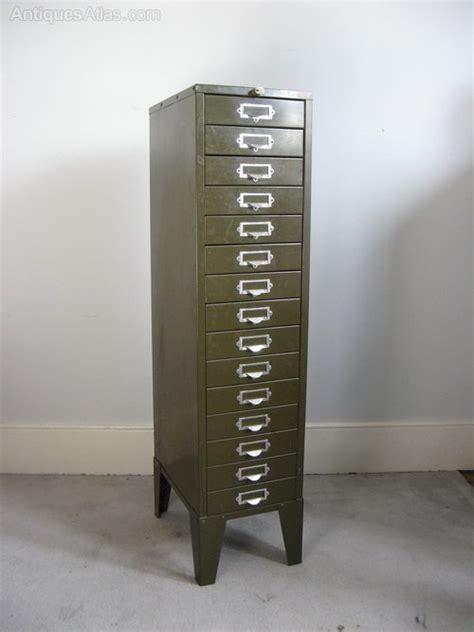 Vintage Metal File Cabinet Antiques Atlas Vintage Metal Green Filing Cabinet By Howden