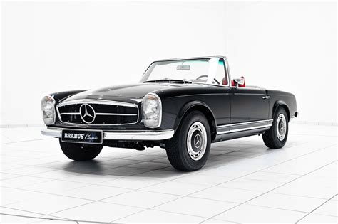 mercedes models brabus promotes classic services with restored mercedes