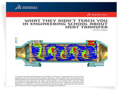 solidworks tutorial heat transfer simulation heat transfer solidworks