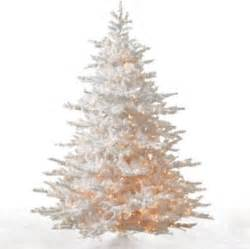 white cascades artificial christmas tree modern