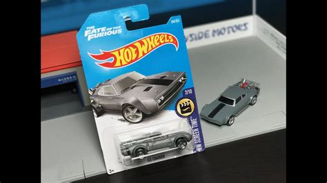 Hotwheels Reguler Charger The Fate Of The Furius lamley showcase 2017 wheels fate of the furious