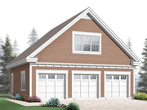 detached 3 car garage plans 3 car garage loft plan 028g 0039 for the home pinterest