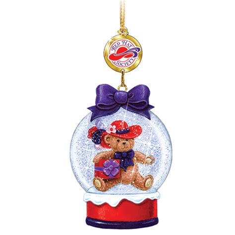 red hat society christmas ornaments your 1st one is free
