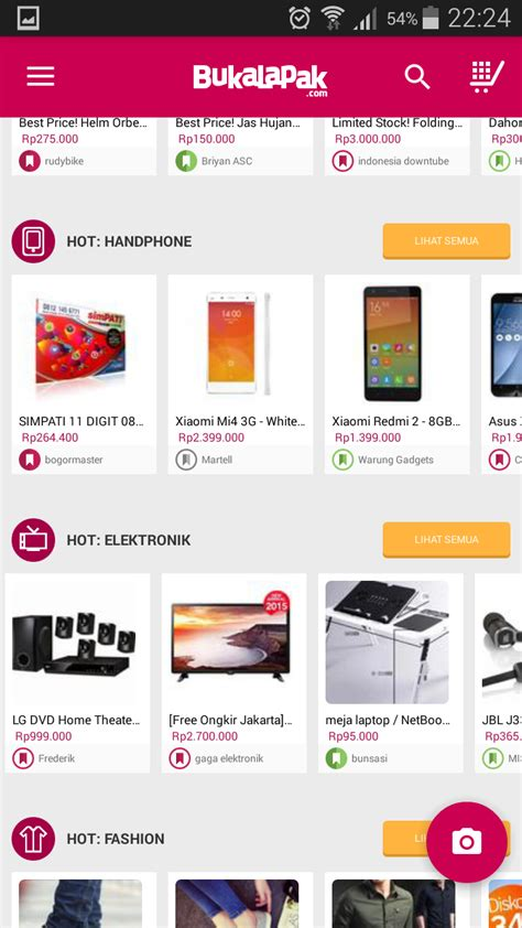 bukalapak ios mudahnya berbelanja online di bukalapak hanya dengan modal