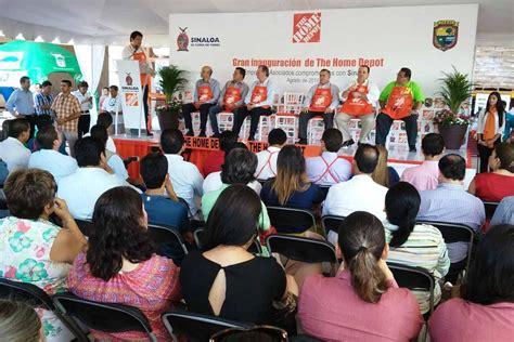 abre the home depot quinta tienda en sinaloa peri 243 dico