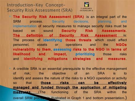 Ngos Field Security Management Approach Systems 2 Pptx Ngo Risk Assessment Template