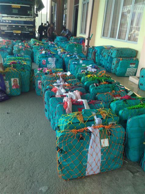 Tali Rajut Koper Haji jual jaring pelindung koper jemaah haji umroh masmai