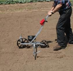 the earthway manual seed planter makes planting crops a