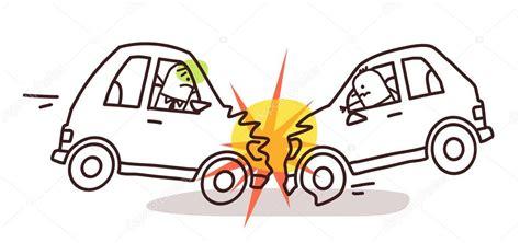 imagenes para colorear prevencion de accidentes personajes de dibujos animados y coche accidente