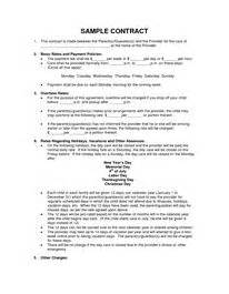 Exles Of Daycare Contracts by 25 Best Ideas About Daycare Contract On In Home Daycare Daycare Ideas And Home Daycare