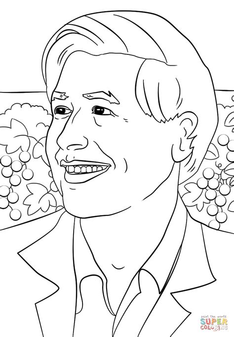 cesar chavez day coloring pages coloring home