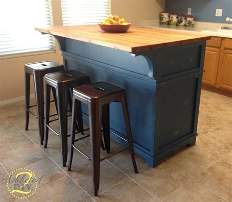 How To Build A Small Kitchen Island White Diy Kitchen Island Diy Projects