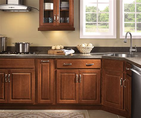 prelude series cabinets at lowes find your style farrell maple toasted