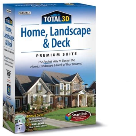 total 3d home landscape deck premium individual software