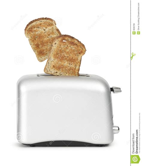 How To Get Toast Out Of Toaster bread popping out of toaster royalty free stock images