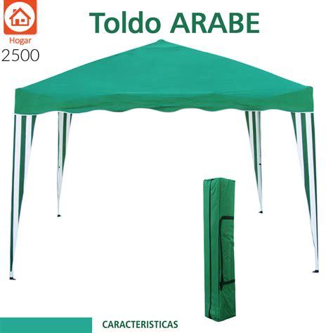 toldo de playa toldo plegable techo carpa 240x240cm playa lona jardin