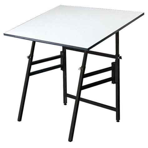 Alvin Portable Drafting Table Alvin 24 Quot X 36 Quot Professional Drafting Table Base Color White Or Black Model X