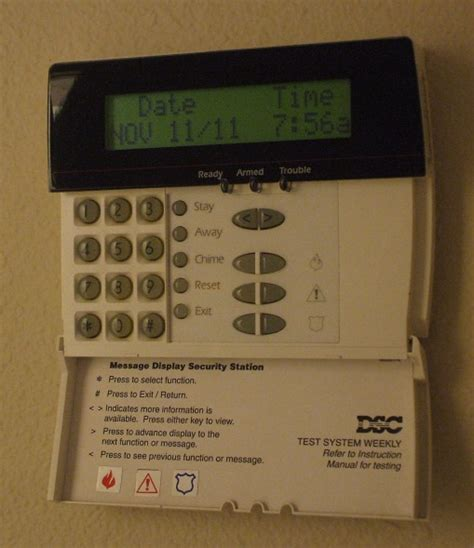 home security panels security system keypad home