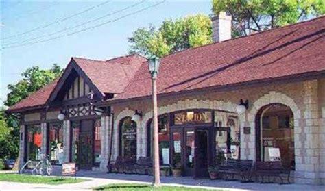 chicago and elgin railroad depot villa park il