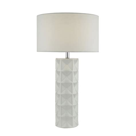 white table l shade dar lighting gift white ceramic table l with white