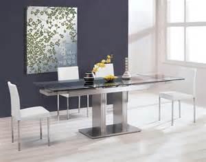 modern dining furniture sets zoe expandable dining set 1 312 31 modern dining