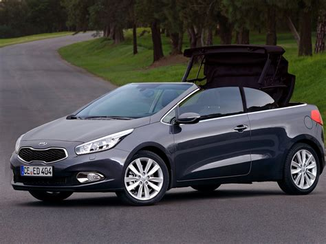kia convertible 2014 kia pro cee d convertible news4cars