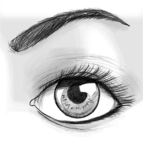 imagenes de ojos a lapiz tutorial de dibujo ojo semi realista propio taringa