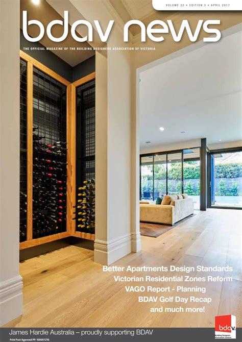 residential design guidelines victoria bdav news april2017 by bdav issuu