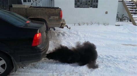 volkswagen diesel smoke porque sale humo negro de mi carro arreglalo rapido y