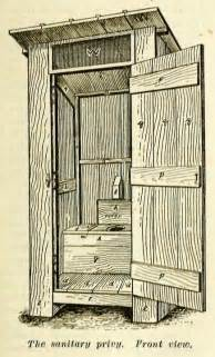 build an outhouse privy with plans from 1909 well