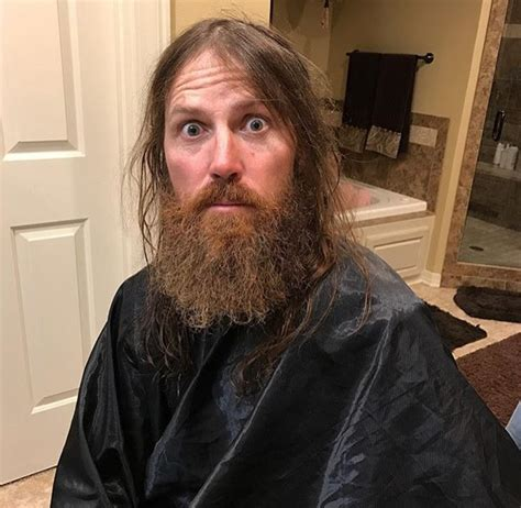 duck dynasty wifes hair cuts jase robertson shaved his beard video photos of the