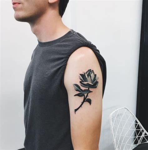 men with rose tattoos 170 best tattoos for with meaning 2018 tattoosboygirl