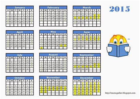 free printable planner 2015 malaysia 2015 calendar for kids with malaysia school holidays