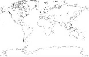 Blank Map by Worldworld Map Colouring Pages