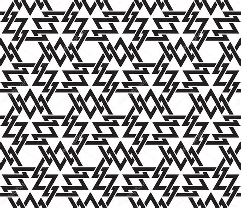 patterns with basic shapes seamless pattern of intersecting geometric shapes of lines