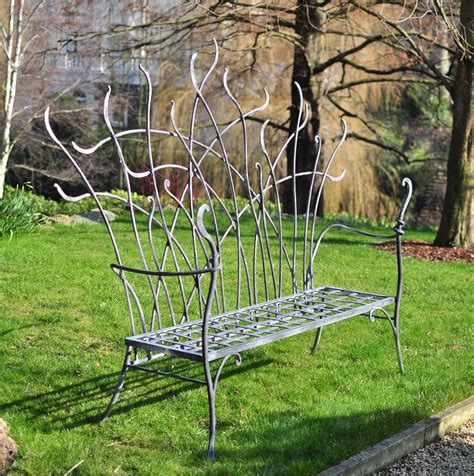 unique garden benches welding showcase david freedman shares his story